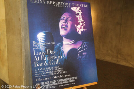 Single image for LADY DAY AT EMERSON'S BAR & GRILL / OPENING – FEB 8, 2020