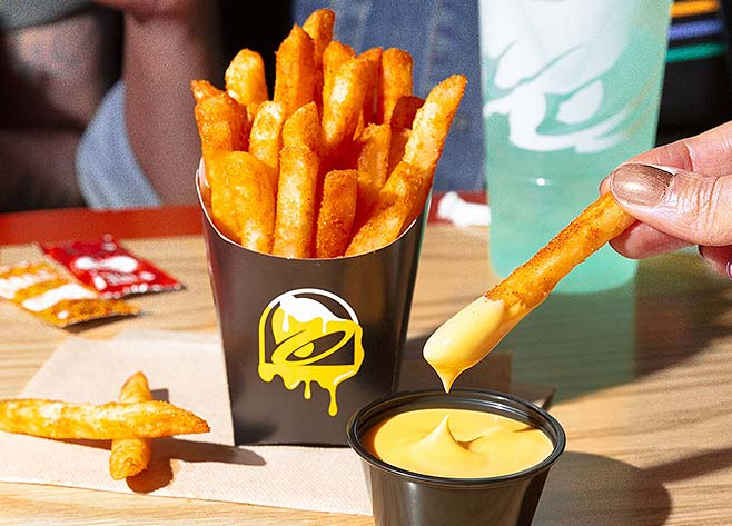 NACHO FRIES ARE BACK!